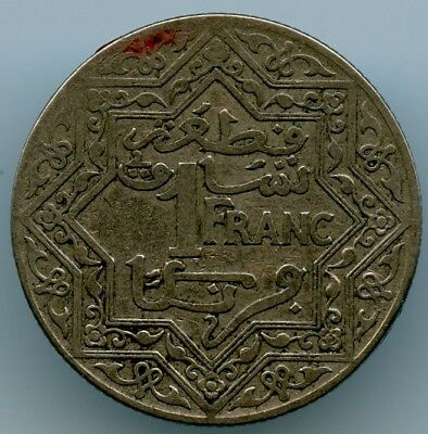 Nd(1921) Morocco 1 Franc!