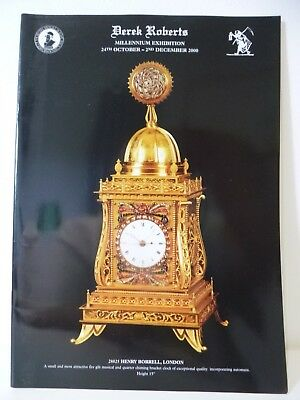 Derek Roberts Millennium Clock Exhibition Catalogue, Book, 2000.