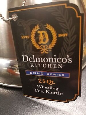 Delmonico's Whistling Tea Kettle