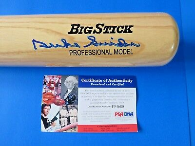 Duke Snider Signed Rawlings Pro Model Big Stick Baseball Bat ~ Psa F54680