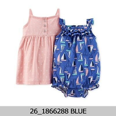 Carters Baby Girls 4-Piece Set  12 Months New with Tag #1850956