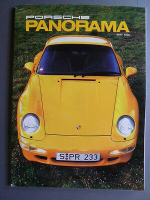 May 1995 Porsche PCA Panorama Magazine May 1995 RARE!! Awesome L@@K