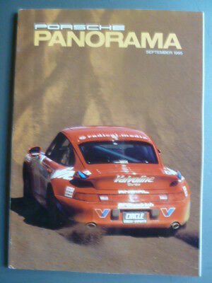 September 1995 Porsche PCA Panorama Magazine September 1995 RARE!! Awesome L@@K