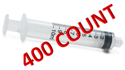 10 mL Luer Lock Syringe Only - 10cc - 200 /Case - Sterile - Individually Wrapped