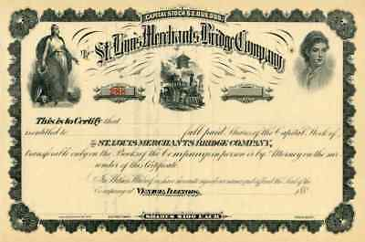 188_ St Louis Merchants Bridge Terminal RW Stock Certificate