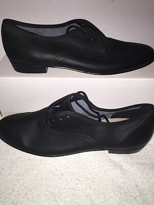 Ms. Stomper Size 10AA WOMENS Clogging Tap Dance Shoes, (no Taps) BLACK
