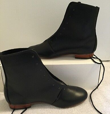 High Country, Size 5.5M WOMENS Clogging Tap Dance boots, Shoes, (no Taps) Black