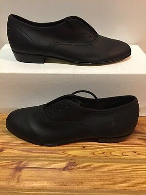 Ms. Stomper Size 5AA (narrow) WOMENS Clogging Tap Dance Shoes, (no Taps) BLACK