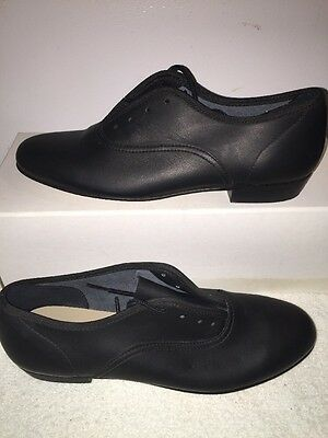 Ms. Stomper Size 6AA WOMENS Clogging Tap Dance Shoes, (no Taps) BLACK