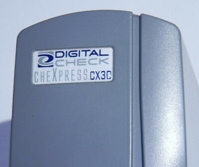 Digital CheXpress CX30 Check Scanner - No Inkjet Printer/Missing Power Adapter