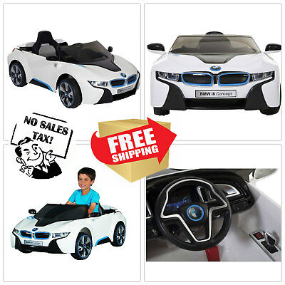 Battery Powered Car For Kids Ride On Toy 6v Electric Bmw I8 Toddler