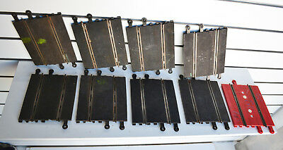 Scalextric Set Used 1:32 Standard Straight 9 X 175Mm Track Straight Pieces