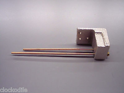 BIM BAM STRIKE CLOCK CHIME RODS SET WITH CHIME BLOCK - movement repair parts