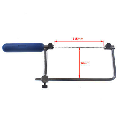 ASB400 Coping Saw Soft Grip Handle Suits for Wood Plastic Board Jewelry Repair