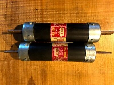 lot of 2 - Fusetron FRS-R200 Fuse