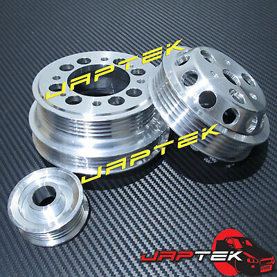 UD Lightweight Pulley Set For Mazda RX8 04-08 1.3L Renesis 13B-MSP RX-8 13B FE3S