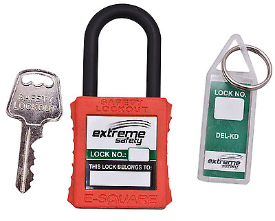 Dielectric Lock Nylon - Yellow, Blue, Red, Orange, Green Lock Out Safety