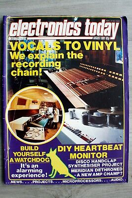 Vintage Electronics Today International August 1981