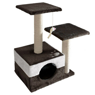 Cat Scratching Post Tree Scratcher Pole Furniture Gym House Toy Small 70cm NEW
