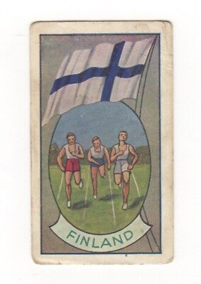 Allen's Confectionery - Sports and Flags of Nations - Finland Athletics