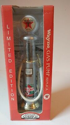 NEW 1999 Gearbox Collectible Limited Edition Texaco Sky Chief Wayne Gas Pump