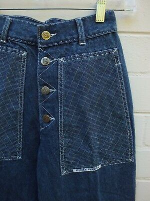 VINTAGE JEANS HIGH WAIST RISE JEANS BLUE 80s by PUNKY SPORTS - 24 XS