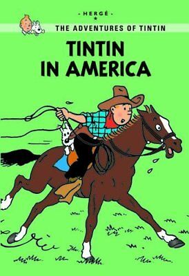 Tintin in America by Herge New Paperback Book
