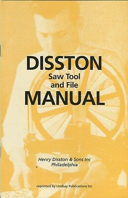 Disston Saw Tool and File Manual