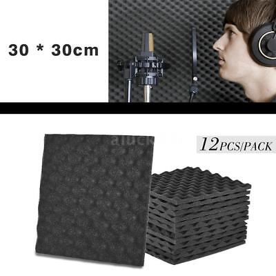 12 X Acoustic Egg Panels Tiles Studio Sound Proofing Insulation Closed Cell Foam