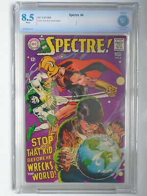 Spectre #4, Neal Adams, Stop That Kid... CBCS 8.5, White Pages