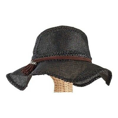 f3e0b286fde San Diego Hat Company Women s Paper Floppy Hat with Panel Stitched Crown