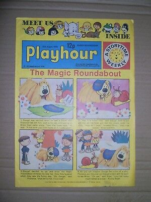 Playhour and issue dated August 26 1978