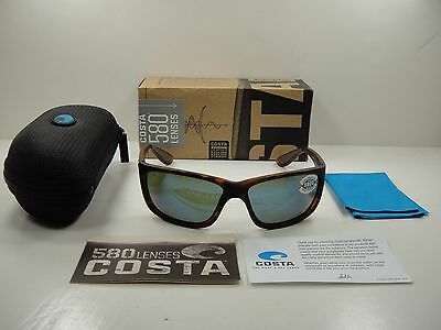 15f93fff0afd2 Costa Del Mar Tasman Sea Polarized Tas66 Obmglp Sunglasses Tortoise blue  Glass