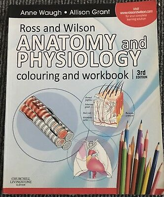 ROSS AND Wilson Anatomy and Physiology Colouring and Workbook by ...