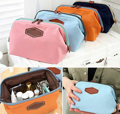 Women Travel Makeup Bag Pouch Cosmetic Purse Stationery Beauty Toiletry Case Bag