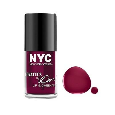 004 Cheeky Berry Nyc New York Color Lip Cheek Tint Stain Lovatics Demi Lovato