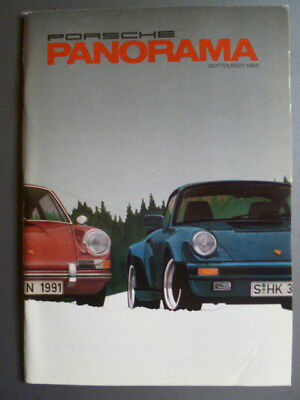 September 1988 Porsche PCA Panorama Magazine September 1988 RARE!! Awesome L@@K