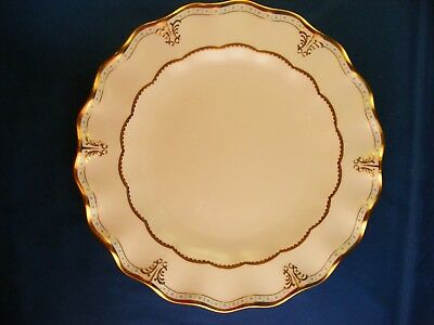 """Royal Crown Derby Lombardy 10 1/2"""" Dinner Plate A 1127"""