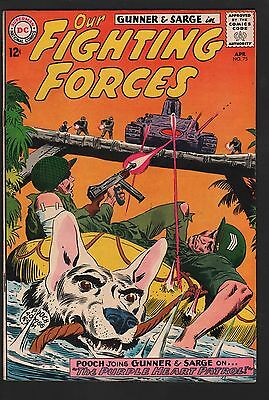 Our Fighting Forces #75 VF 8.0 Off White Pages