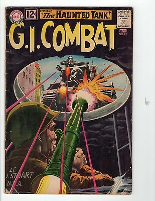 G.I. Combat #95 VG- 3.5 Off White Pages