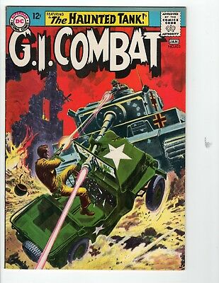 G.I. Combat #103 F/VF 7.0 Off White Pages Grey Tone Cover