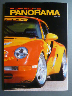 May 1994 Porsche PCA Panorama Magazine May 1994 RARE!! Awesome L@@K