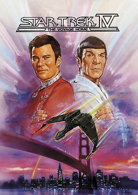 Star Trek IV Voyager Home Movie Poster 13x19 inches