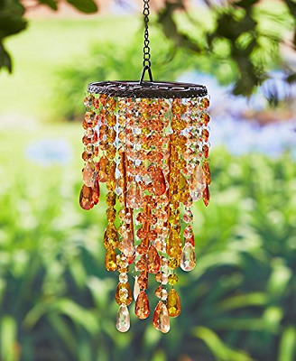 Chandelier Wind Chimes Amber