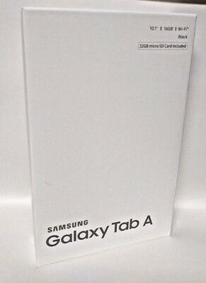 Samsung Galaxy Tab A 16GB Wi-Fi Tablet 10.1in Black w/ 32GB MicroSD card SM-T580