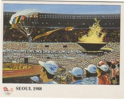 Korea 1988. Seoul Olympic Stadium card