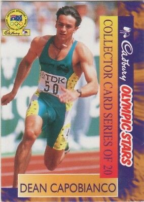 Australian Athletics Card - Dean Capobianco