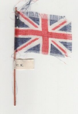 Cereal Foods Confectionery - Minature Flags on Flagstaffs - United Kingdom