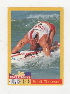 Uncle Tobys Iron Man Cereal Trade Cards Scott Thomson