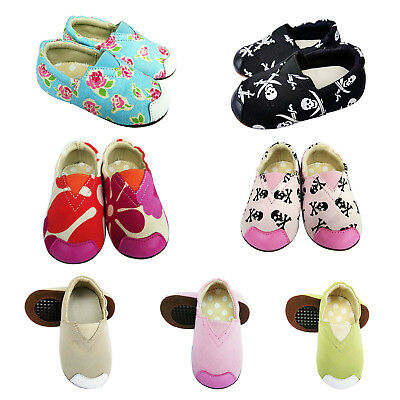 Jinwood Leather Baby Infant Children Rubber Sole  Shoes 12-18M Littleoneshoes